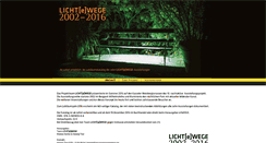 Preview of licht-e-wege.de