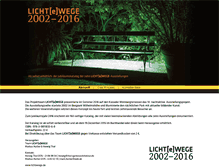 Tablet Preview of licht-e-wege.de